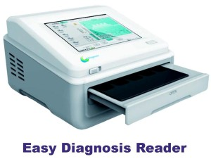 Easy Diagnosis Reader con pie